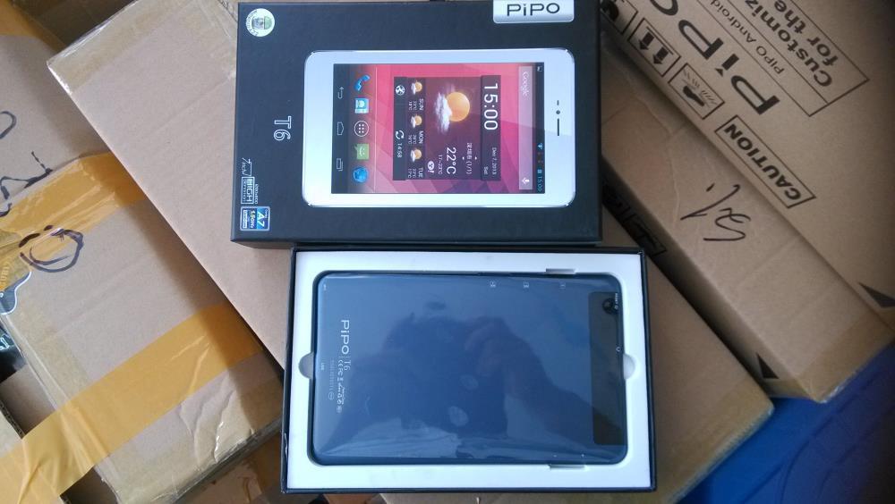 20pcs/lot PIPO T6 Tablet PC 7'' Dual Core Android Tablet Dual Sim Card Mid PC 3G Tablet PC Android4.2 1G 8G Dual Camera(China (Mainland))