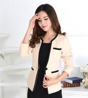 New 2014 Autumn Female Blazer Feminino Blaser Women Blazers & Jackets Fashion Ladies Office Uniform Styles Jaqueta Esporte