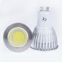 GU10 Dimmable COB LED Bulb Light 6W 9W 12W LED Spotlight 60 degree Angle Warm White Cold White For Home illumination