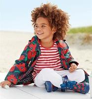 Free shipping 2014 tulip coating hooded windbreaker children children's clothing wholesale trade