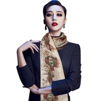 Women Pashmina Fashion 2014 New  Chinese Style Cotton Vintage and Elegant Soft Scarves Desigual Women Scarf Women Clothing 1983