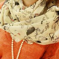 New 2014 Fashion Women Scarf Hot Sale Print Casual Long Scarves Three Colors Velvet Silk Women Pashmina 1876