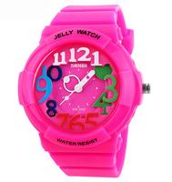 2014 New Fashion Jelly Quartz Watch Dive Swim 30m Waterproofed Sports Watch boys girl's Children's Watches Students Wristwatches