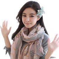 Fashion 2014 Women Scarf Print Voile Soft Spring and Autumn Korean Style Brand Desgiual Shawl Women Panshmina 1847