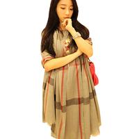 200cm*88cm New Fashion 2014 Women Scarves Classical Plaid Pashmina Cashmere Shawls and Scarves 1835