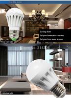 Wholesale LED Bulb Lamp Light E27 B22 LED Bulb Light 3W 5W 7W 9W 12W 110V 220V 240V Cold Warm White LED Spotlight Free Shipping