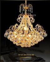 2014 European Crystal Restaurant Luxurious Modern Minimalist Living Room Bedroom Lamps Restaurant Llighting EE-028