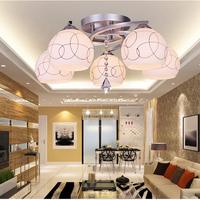 Ceiling light modern brief living room lamps crystal romantic bedroom lights restaurant lamp led pendant light study light