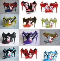 2014 new style fashion ankle strap high heels sneakers dance shoes party heels AAA