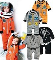 2015 autumn children Space Romper baby jumpsuit baby boutique romper