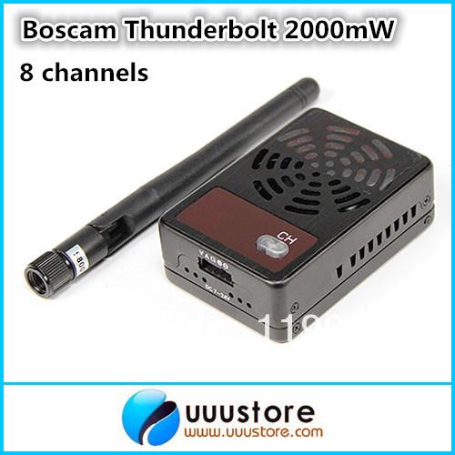 Boscam Thunderbolt 2000mW 5.8GHz FPV wireless AV Transmitter for FPV Aerial Photography(China (Mainland))