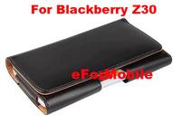 2014 New Slim Pouch Case Belt Clip Case Mobile Phone Case Leather Case  For Blackberry Z30