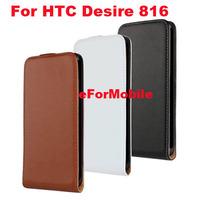 Slim Flip Cover Genuine Leather Case Mobile Phone Case  For HTC Desire 816