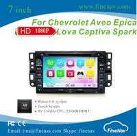 A9 Wince 6.0 Car DVD For Chevrolet Epica Tosca Captiva Aveo Lova Kalos Holden Epica Captiva Daewoo Winstorm Gentra With BT iPod