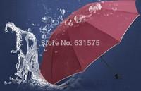 2014 Men's super trio folding umbrella sun umbrella FREE SHIPPING