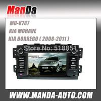 2 Din Car dvd gps KIA MOHAVE/ BORREGO 2008-2011 gps Navigation system In Car Entertainment Radio Mp3 Ipod BT cd dvd All Function