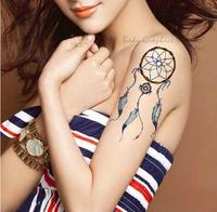 2014 Hot sale fashion temporary tattoo sticker fashion dream net model temporary tattoo for arm free shipping