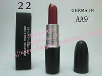 2014 Newest Products Matte Lipstick Moisture lip Lipsticks high quality makeup 24 differ 3g (50 pcs/lots)50pcs  free shipping