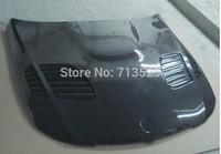 for BMW 3-Series Sedan E90 2006-2008 change to E90 M3 look car front engine hood bonnet carbon fiber  M5 style