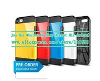 Wholesale 100pcs/lot New Arrival Korean Style Tough Armor SGP Case for iPhone 5C Hybird Spigen Hard Back Cover For iphone 5C