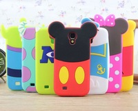 For samsung galaxy s4 case minnie mouse sulley alien rubber cell phone back skin cases cover for samsung galaxy s IV i9500