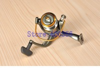 2014 Front brakes all-metal reel CK4000 grade 12+1BB Pesca fishing vessel gear wheels spinning wheel factory Fishing Tackle Lure