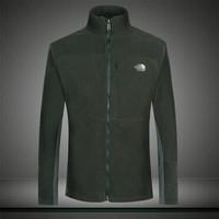 2014 New Fashion Leisure Men's Winter Outdoors Sport T-shirt Fleece Jackets Anti-static jacket men's chimborazo hoodie Hi-Q