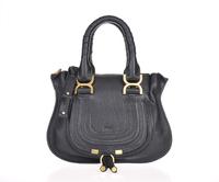 Top quality original brand marcie real calf leather black ambre tote handbag shoulder bag fashion gift free shipping wholesale