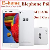 Original Elephone P6i MTK6582 Quad Core 1.3GHz 5.0 inch 960x540 IPS 1GB RAM 4GB ROM 13MP 2100MAH Android 4.4 OTG  Smartphone