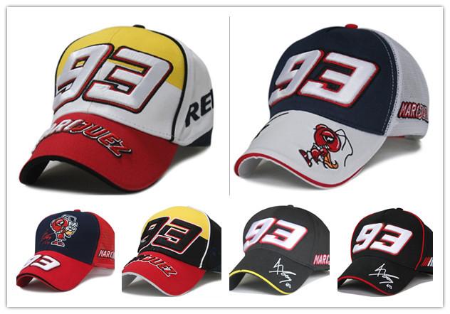 Sport Cap F1 Car Motocycle Racing MOTO GP Marc Marquez 93 Embroidery Baseball Cap Hat brand baseball caps(China (Mainland))
