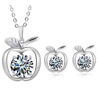 fashion bridal silver jewelry set, Tz-1322