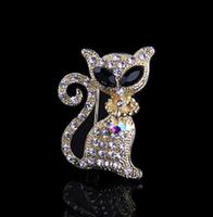 2014 Free shipping new high-end fashion wild cat brooch fashion statement