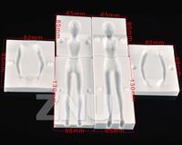 3D Woman Body People Shape Cake Cutter Fondant Gum Paste Decorating Tools