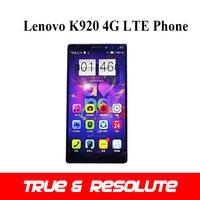 Pre-order 6.0'' Lenovo K920 Vibe Z2 Pro 4G LTE Phone Snapdragon 801 Quad Core 3GB+32GB 2560*1440P 16.0MP GPS WiFi NFC Dual SIM