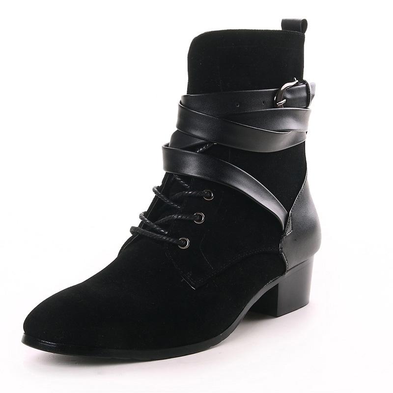 aliexpress popular mens high heel cowboy boots in shoes