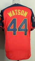 Cheap Sale,#44 Tony Watson Men's Blue/Red 2014 All star baseball jersey,Embroidery/sewing Logos,wholesale