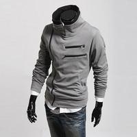 2014 new men's casual cardigan sweater tide male Korean Slim young men's jackets baseball uniform LW8011