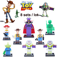 Y Building Blocks Hot Toy Story Minifigure Construction Educational Bricks Toys for Children Compatible Blocks Gift
