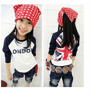 New Hot Children T Shirt Spring Autumn Fit 3-7Yrs Boys Girls Cotton Tee Kids Casual T Shirt Baby Sport Tee Long Sleeve Clothing