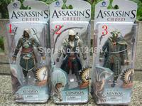 Assassins Creed 4 Black Flag Connor Haytham Kenway Haytham Kenway PVC Action Figure Toys