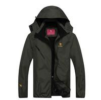 2014 new brand men's outdoor quick-drying windbreaker Waterproof coat monolayer windbreaker free shipping
