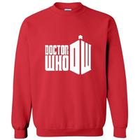 2014 autumn-winter new men  print pullover 3D famous tvplay doctor who sports man hoodies sweatshirt sportswear moleton