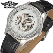 Winner Watch Fashion Women Watches Top Quality Lady Watch Factory Shop Free Shipping WRL8009M3S3