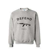 2014New men GIV DEFEND PARIS AK47 Automatic rifles print pullover Hip hop 3D sports man hoodies sweatshirt sportswear moleton
