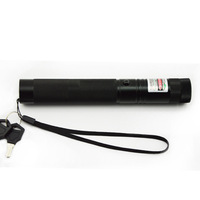 Free shipping!High Power 532nm 200mW Green Laser Pointer Pen zoomable Burning Matches led flashlight