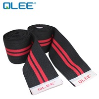 qlee fitness bodybuilding squat knee knee bandage straps knee strapped professional sports weight training 1100