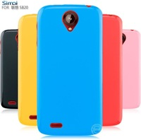 TPU Beautiful Soft matte Case for Lenovo S820 Cover High quality Free shipping