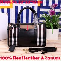 genuine leather canvas women handbags brand high quality women shoulder bags new design fashion women messenger bags