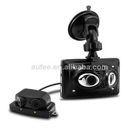 "3.5"" LCD Car DVR 4 cameras 1080P FULL HD 360 degree lens night vision vehicle camcorder video recorder cam LD900 free shipping"