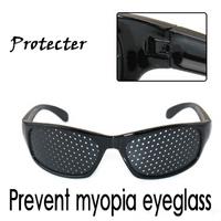 Prevent myopia glasses, Useful pinhole lens, Eye protecter, students best partner